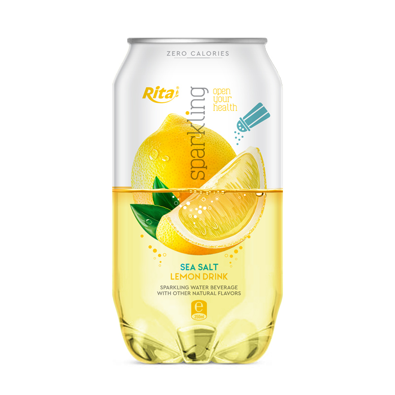Sparkling lemon drink 330ml Can
