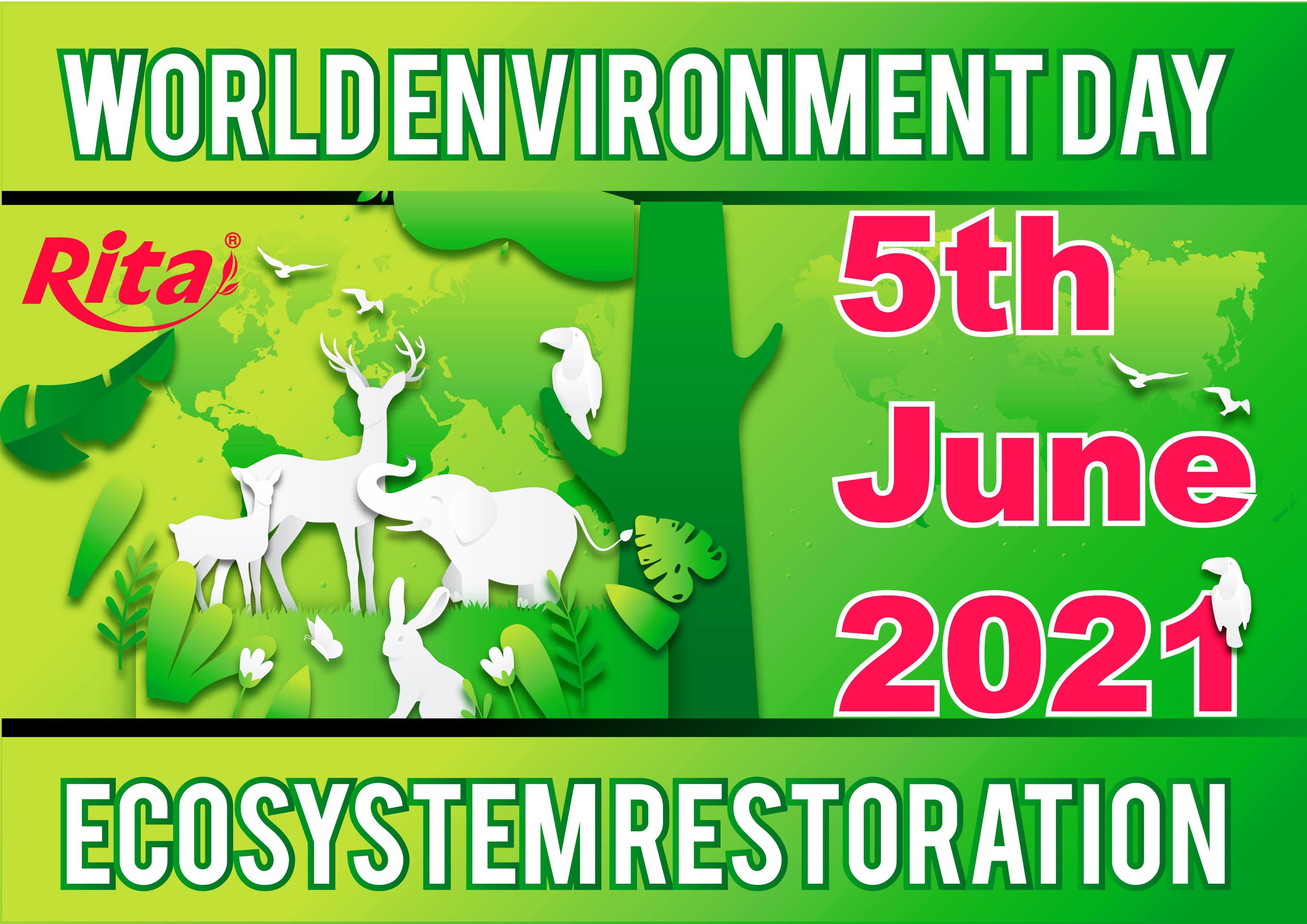 WORLD ENVIRONMENT DAY 2021 -  ECOSYSTEM RESTORATION