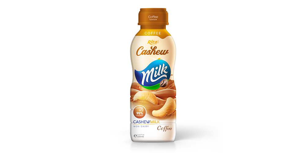 Cashew Milk With Coffee 330ml Pet Bottle Rita Brand