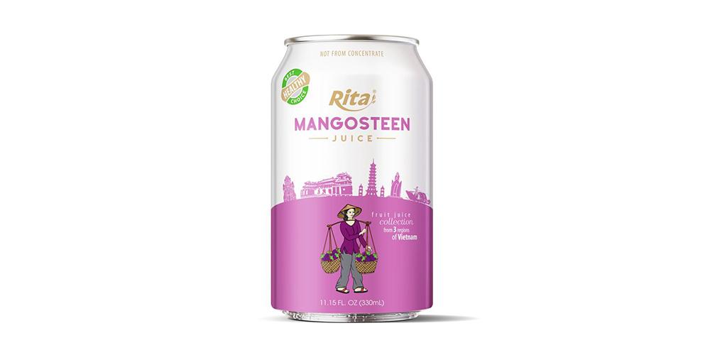 3 Regions Mangosteen Juice Drink  330ml Short Alu Can