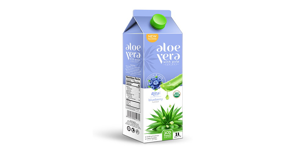 Aloe Vera with Pulp Juice Drink 1L Rita Brand