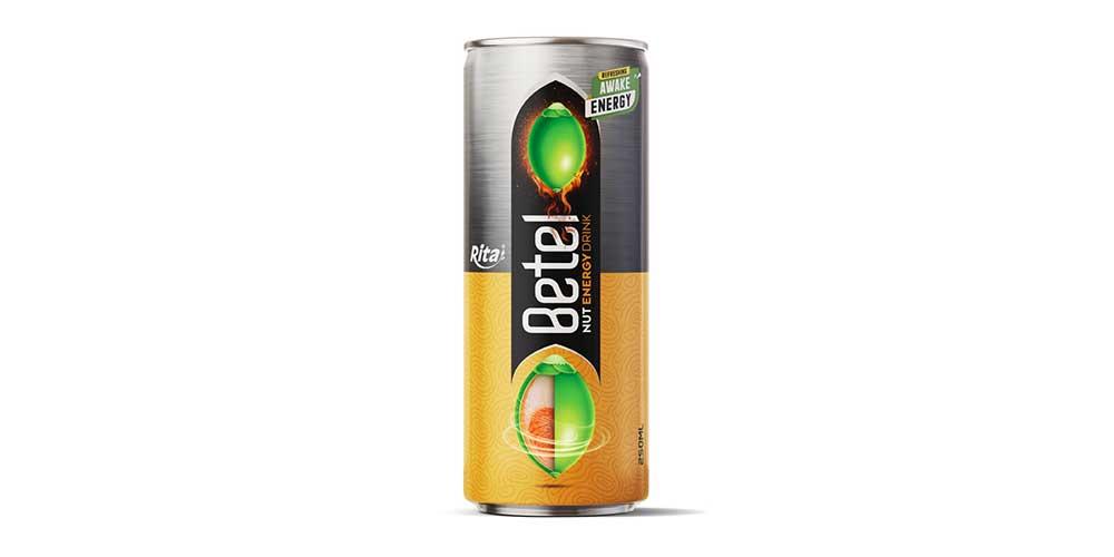 Betel Nut Energy Drink 250ml Can Rita Brand