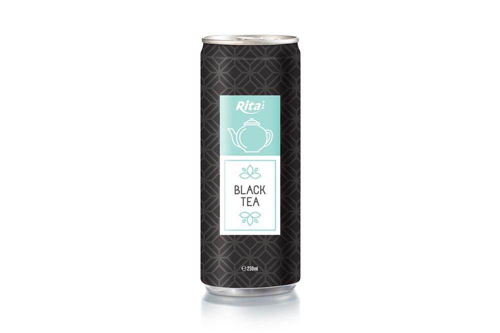 Vietnamese Black Tea 250ml Can Rita Brand