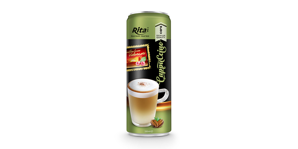 Cappuccino Coffee 330ml Can