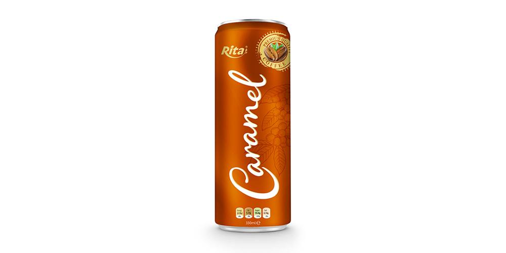 Caramel Coffee 330ml Can Rita Brand