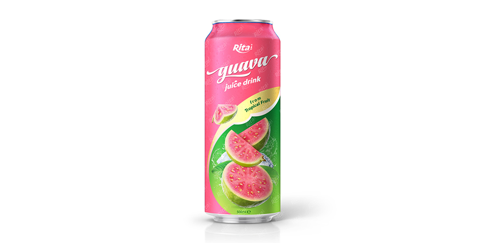 Guava Juice Drink 500ml Can Rita Brand
