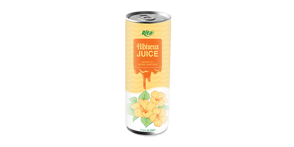 Hibiscus Tea 250ml Can Rita Brand - OEM Product