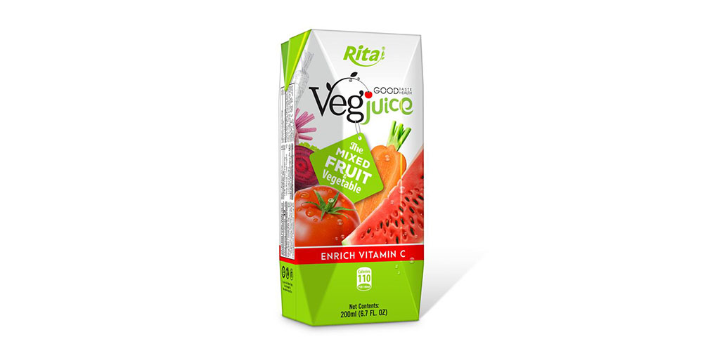 Rita Vegjuice 200ml Paper Box