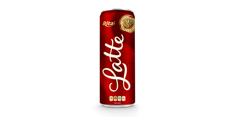 Latte Coffee 330ml Can Rita Brand