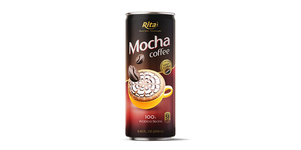 Mocha Coffee 250ml Alu Can Rita Brand