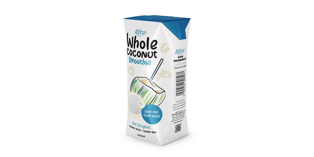 Original Coconut Smoothie 200ml Paper Box