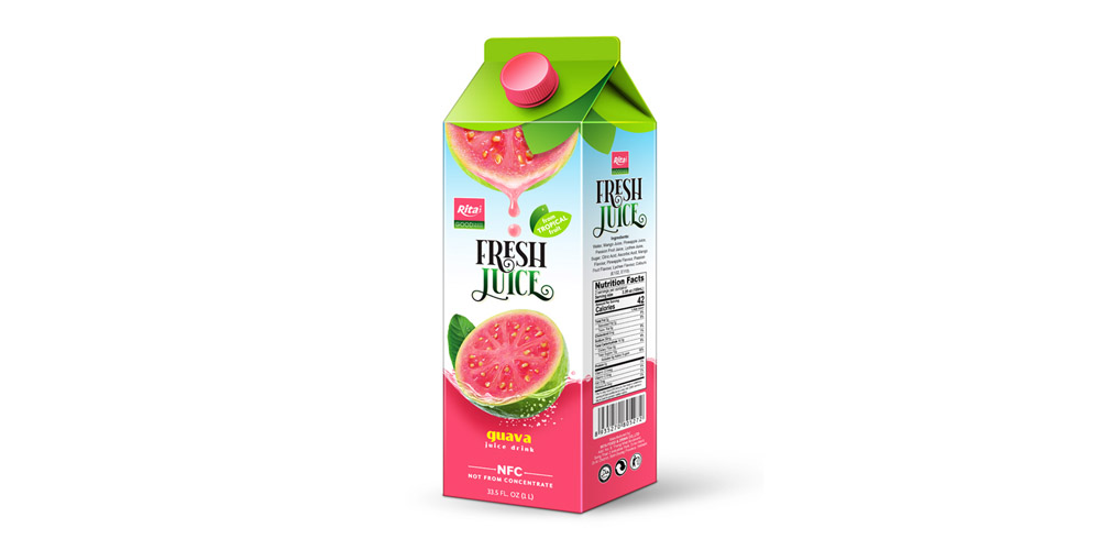 Paper Box 1L guava juice