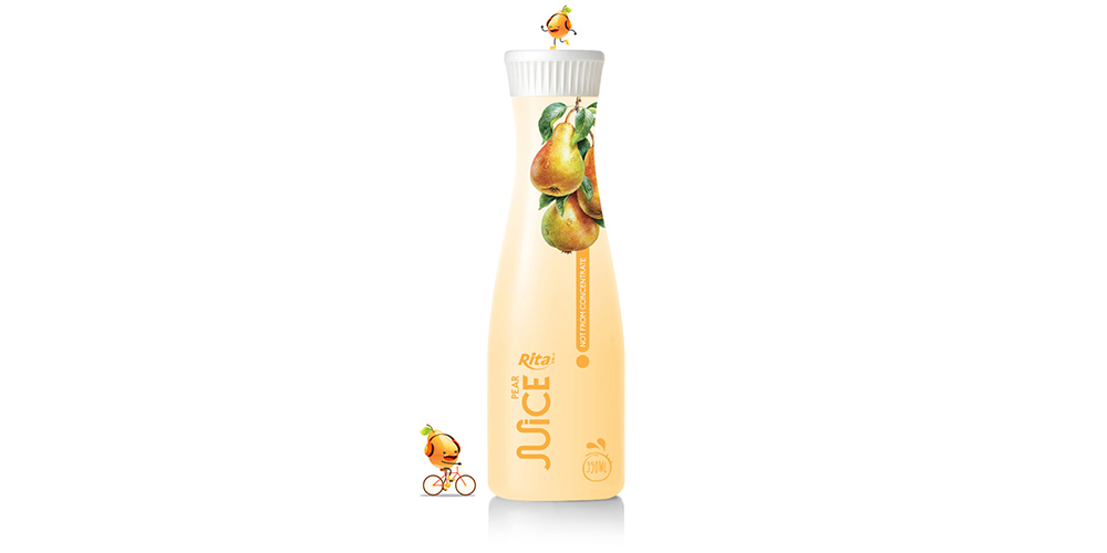 Pear Juice Drink 350ml Pet Bottle Rita Brand