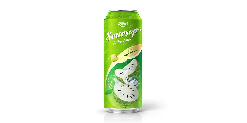 Soursop Juice 500ml Can Rita Brand