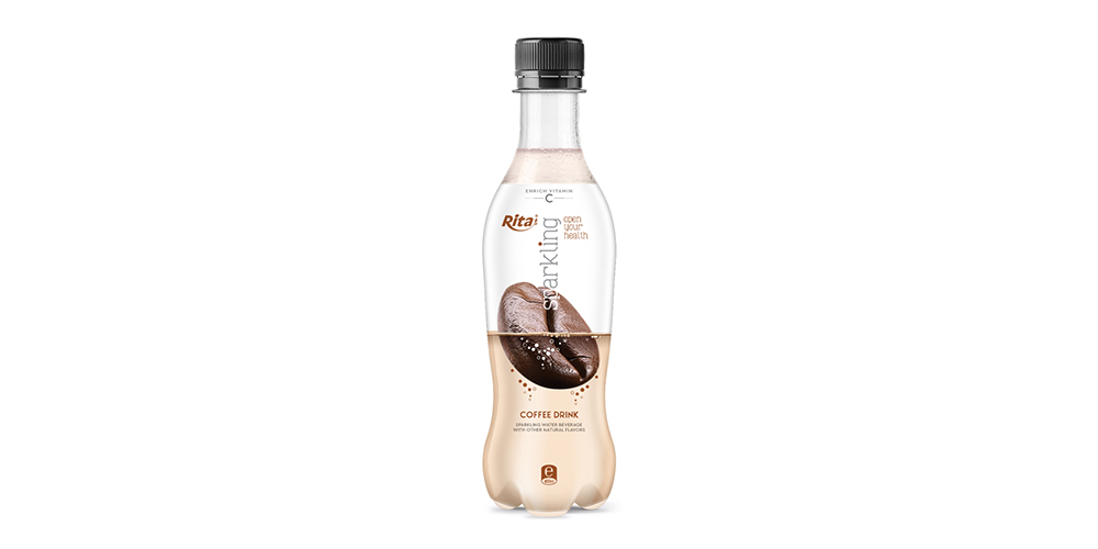 Sparkling Coffee Flavor Water 400ml Bottle Rita Brand