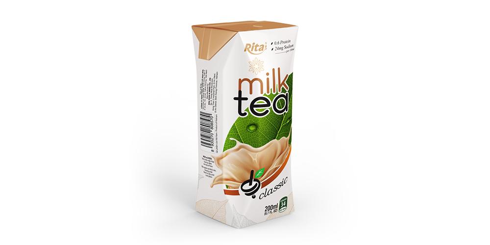 Milk Tea 200ml Paper Box Rita Brand