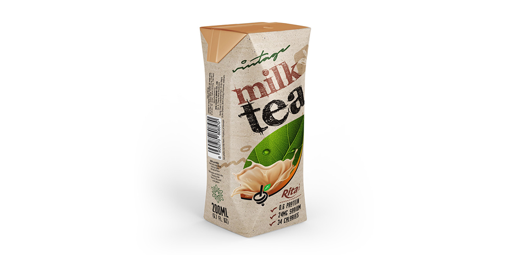 Vintage Milk Tea 200ml Paper Box Rita Brand
