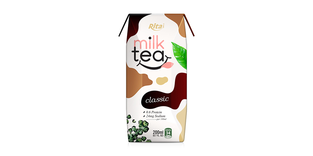 Classic Milk Tea 200ml Paper Box Rita Brand