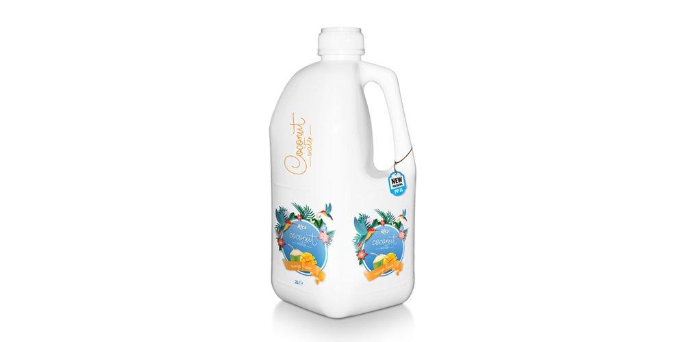 Natural Coconut Water With Mango Juice 2L Pet Bottle