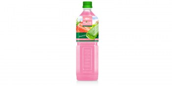 Aloe vera with strawberry flavor 1000ml from RITA Beverages