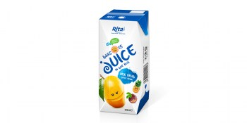 Mixed Fruit Juice 200ml Paper Box-chuan