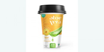 PP cup 330ml aloe vera with pineapple