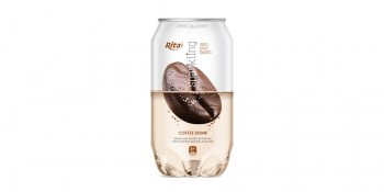 Pet can 350ml Sparkling drink with coffee flavor from CC