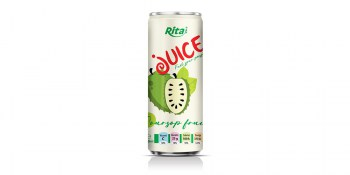 350ml Pet Bottle Soursop juice drink  from RITA beverages
