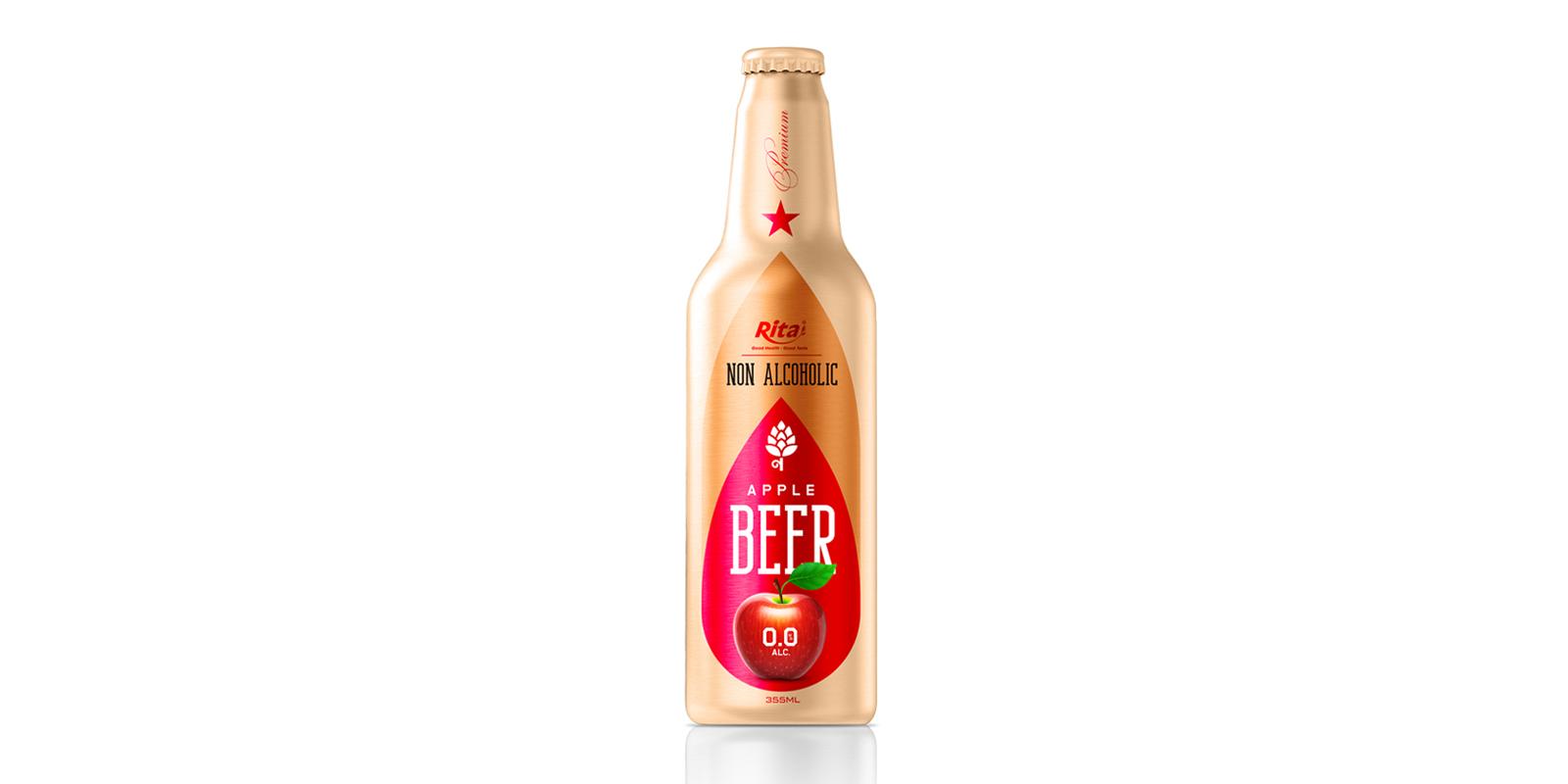 Non Alcoholic Apple Beer  355ml Alu Bottle Rita Brand