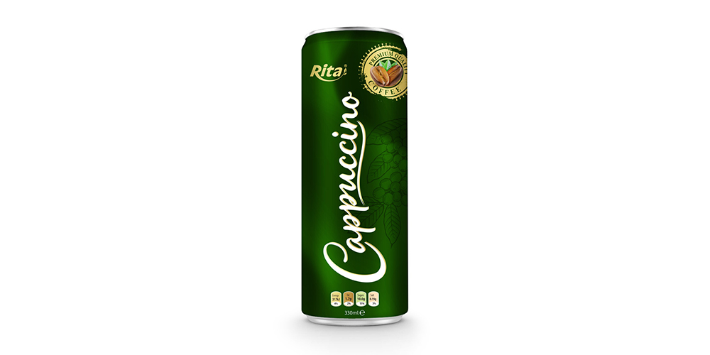 Cappuccino Coffee 330ml Can Rita Brand