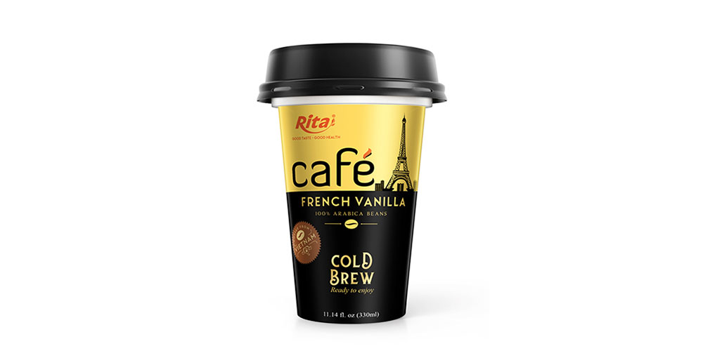 Vanilla Coffee 330ml PP Cup Cold Drew