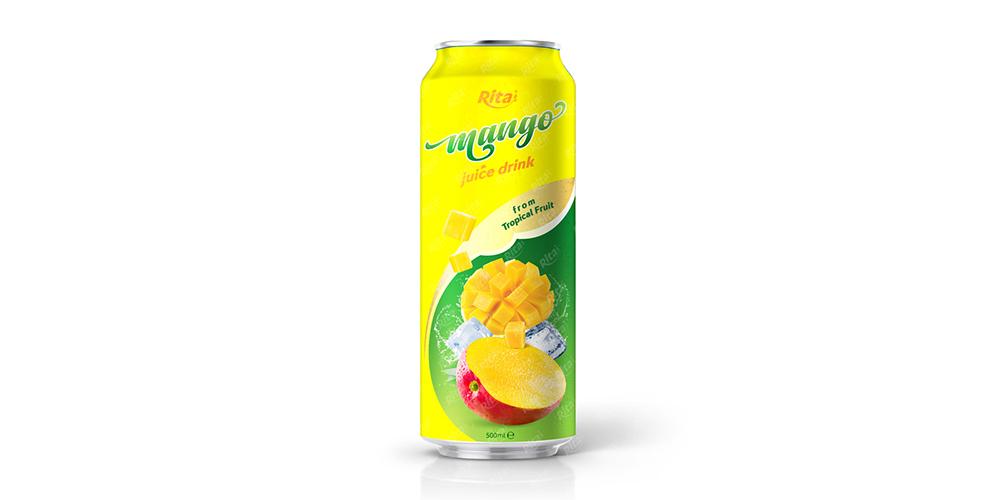 Mango Juice Drink 500ml Can Rita Brand