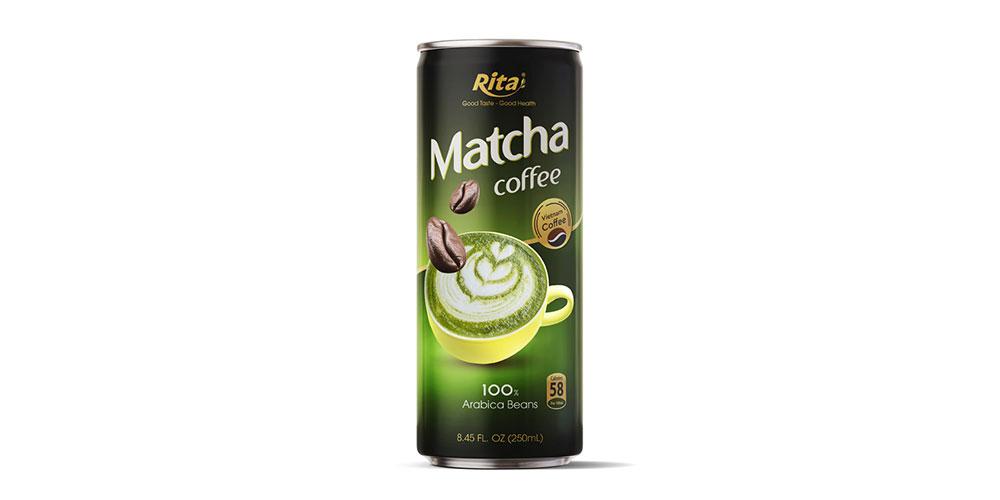Matcha Coffee 250ml Alu Can Rita Brand