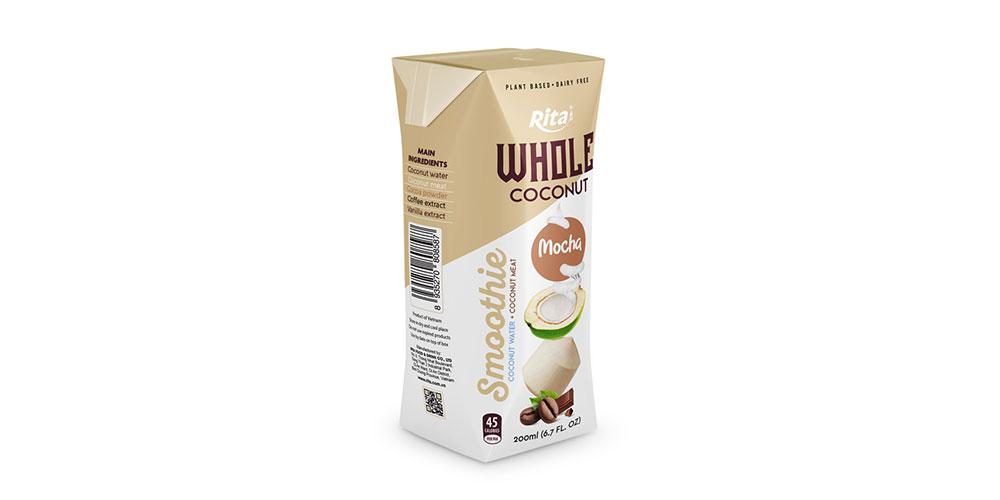 Mocha Coconut Smoothie 200ml Paper Box Rita Brand