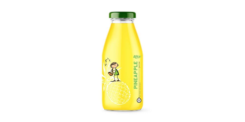 Pineapple Juice 250m Glass Bottle Rita Brand