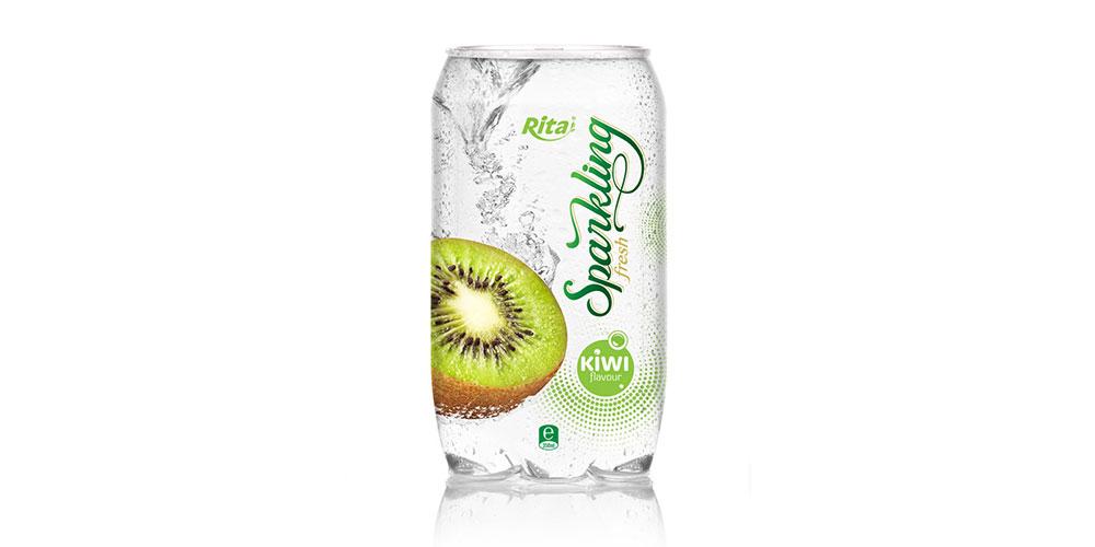 OEM Product Kiwi Flavor Sparkling Water 350ml Alu Can Rita Brand