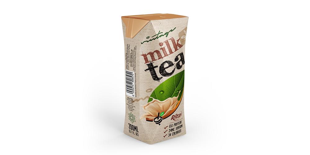 Vintage Milk Tea 200ml Paper Box Rita Brand