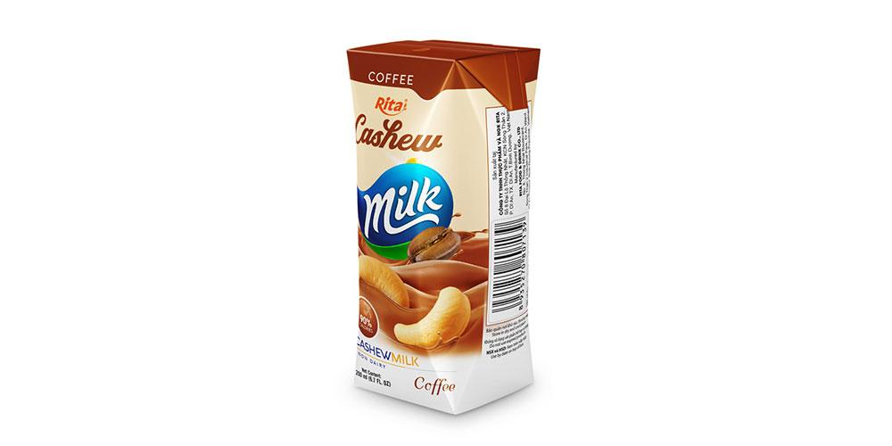 Cashew Milk With Coffee 200ml Paper Box Rita Brand