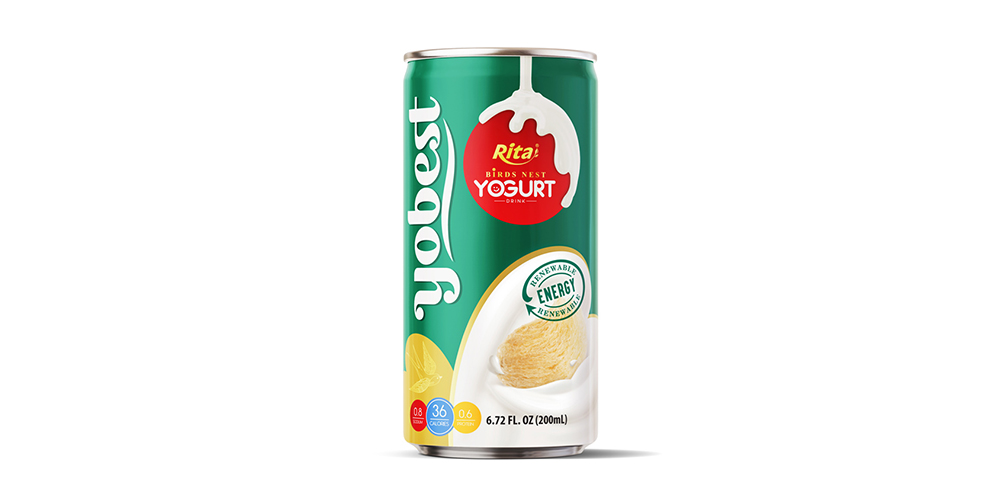 Bird's Nest Yougurt 200ml Can